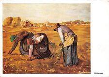 B51550 Glaneuses Art de la cBouche et des Pieds Femmes women   Painting postcard