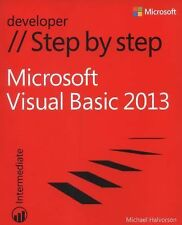 Step by Step Developer Ser.: Microsoft Visual Basic 2013 by Michael Halvorson...