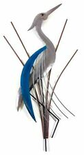 Contemporary Metal Wall Art Decor Picture - Abstract Heron Bird Head Up