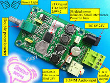 TDA7492P Digital Class D Verstärker-Brett 25W x2 Power Audio Amplifier 8V-24V DC
