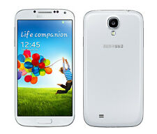 5'' Unlocked Samsung Galaxy S4 GT-I9500 16GB 13MP 3G Móviles libres- White Frost