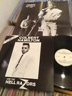COLBERT HAMILTON AND THE HELL RAZORS ROCKABILLY PSYCHOBILLY LP + POSTER