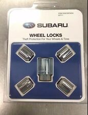 Genuine Subaru Alloy Wheel Locks - Fits All Models - Set of 4 - B321SFG000