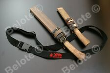 KANETSUNE Obi Sling Black, Easy Way To Carry Heavy Fixed Blade Knives KB-302 NEW