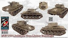 Ding-Hao Hobby 1/35 T-77 Multiple Gun Motor Carriage