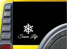 Snow Life K686 8 inch Sticker skiing decal
