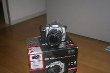 Fotocamera Canon EOS 400D reflex digitale + obiettivo 18-55 + scatola + CF 2GB