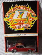 1968 OLDS 442 #1/4 w/RR (1:64)2013 Hot Wheels 27th Collectors Convention(1/1100)
