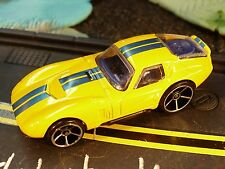 Shelby Cobra Daytona, yellow with blue racing stripes