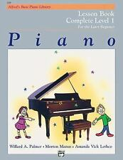 Piano Lesson Book: Complete Level 1, for the Later Beginner, , Acceptable Book
