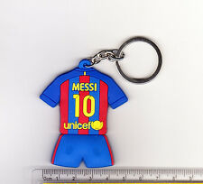 kiTki Barcelona 10 Messi football soccer keychain key chain ring jersey new c