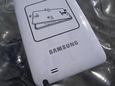 oem ome Samsung Galaxy Note 1st GT-N7000 White Battery Back Door Cover Case