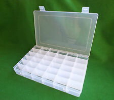 36 Multi Compartment Bead Organiser Storage Box for Beads Jewellery Small Items