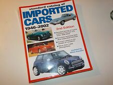 Standard catalog of imported cars 1946-2002 updated James Covello 910 pgs 2nd ed