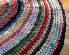 Toothbrush Rag Rug Instructions for ROUND Rug plus Wooden toothbrush needle