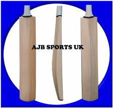 Senior Custom Plain Hand Made English Willow Cricket Bat 2lb 14ozs