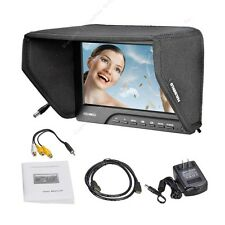 "7""Pro FEELWORLD TFT LCD HD Camera Video Monitor 1080P HDMI Peaking Filter 5D III"