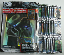 TOPPS Star Wars Rogue One-confezione starter + 25 BOOSTER NUOVO & OVP