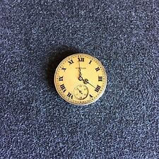 "VINTAGE 6/0 SIZE ""RUBY"" GRADE WALTHAM OPENFACE POCKETWATCH MOVEMENT"