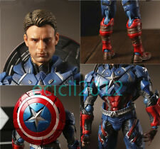 Marvel Universe Captain America Civil War Steven Rogers Crazy Toys Action Figure