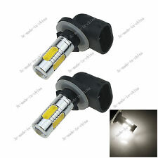 2X White 5 COB 7.5W LED 881 886 H27W2 Car Bulb Fog Light Driving Headlight H651