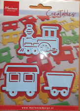 Marianne creatables Die Cutter, Train - craft, card making, 0308