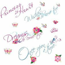 Roommates Rmk1521Scs Disney Princess Quotes Peel and Stick Wall Decals , New, Fr