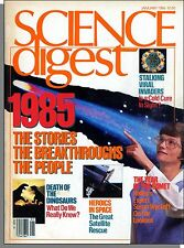 Science Digest - 1986, January - French Wine Technology, 1985 Year in Review