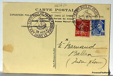 CPA PARIS EXPOSITION PHILATELIQUE 1941  bourse aux timbres 1860   266CA50