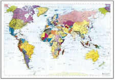 Best Cheap Large Glossy Map of the World (Poster 68x98cm) Educational Posters