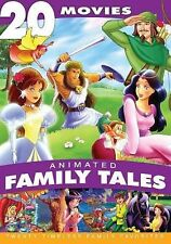 Animated Family Tales: 20 Movies (DVD, 2013, 4-Disc Set)