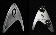 STAR TREK Licensed Starfleet ENGINEERING & SERVICES Insignia Badge PROP REPLICA
