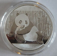 2015 Silver Chinese / China Panda 1oz .999 Silver Bullion Coin - China 10 Yuan