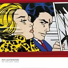 POP ART PRINT - In the Car, 1963 by Roy Lichtenstein Poster 27.5x27.5