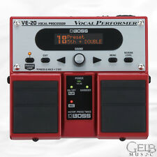 Boss VE-20 Vocal Performer Vocal effects Pedal - VE-20