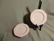 Wedgwood Bread and Butter Plates - Milford -  Made in England - Set of 4