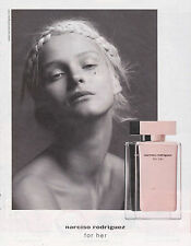 NARCISO RODRIGUEZ PARFUM FOR HER - PUBLICITE PRESSE - PAPER ADVERT - COUPURE MAG