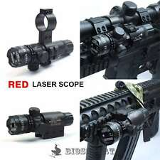 Red Dot Laser Sight Rifle Airgun Soft Air Gun Airsoft Weaver Picatinny Mount Kit