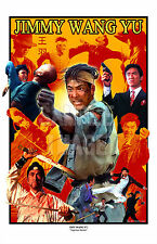 JIMMY WANG YU art one armed boxer master of the flying guillotine shaw brothers