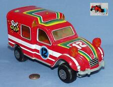 OBERTOYS ref 111 : CITROEN 2cv FOURGONNETTE POP CROSS n° 12 (ROUGE)