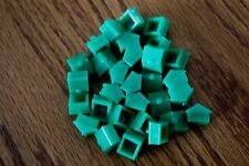 30 Plastic Monopoly Green House Replacement Pieces