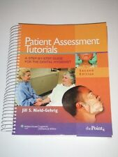 PATIENT ASSESSMENT TUTORIALS Step-By-Step Guide for Dental Hygienist 2e 2010 NEW