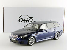 Otto Mobile 2007 BMW M5 E61 Touring Blue Interlagos in 1/18 Scale LE of 500 New!