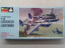 Monogram PA97 P-38 Lockheed Lightning 1:48 Neu in Karton mit Lagerungsspuren