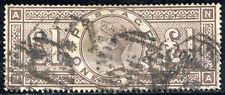 GREAT BRITAIN #110 Used - 1884 £1 Brown Violet