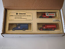 LLEDO STANDARD OIL CHEVRON 1990/1997 COMMEMORATIVE SERIES NIB, GAS & OIL AGES 3+