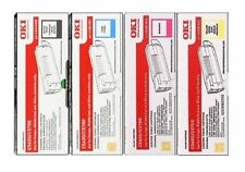 4 Original Toner OKI C5600 C5700 D DN / 43324408 43381905 -43381907 Cartridges
