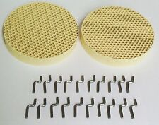 2 pc - High Quality Dental Honeycomb Firing Trays With 20 HD Firing Metal Pegs