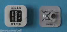 2 x Energizer 335 BATTERIE KNOPFZELLE V335 SR512 SR512SW Armbanduhr V 335 1,55V