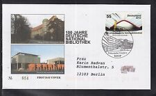 B 5203 ) Bund Germany 2012 FDC  - 100 Jahre Deutsche Nationalbibliothek